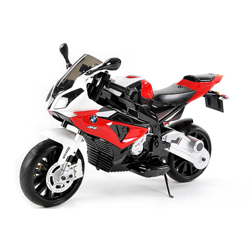 Mini moto eléctrica BMW S 100RR frontal