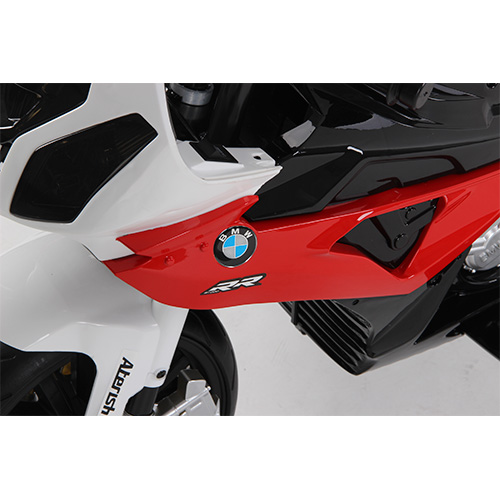 Mini moto eléctrica BMW S 100RR lateral